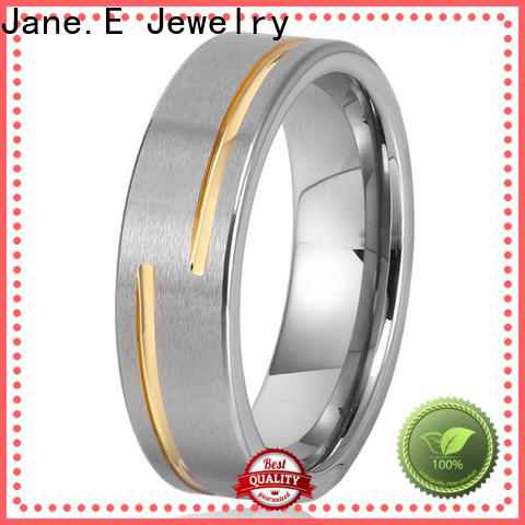 JaneE multi colors tungsten carbide ring exquisite for gift