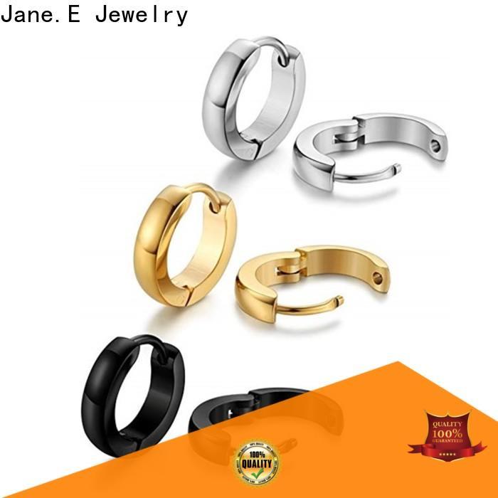 JaneE cuff hoop pearl earrings for women durable for women