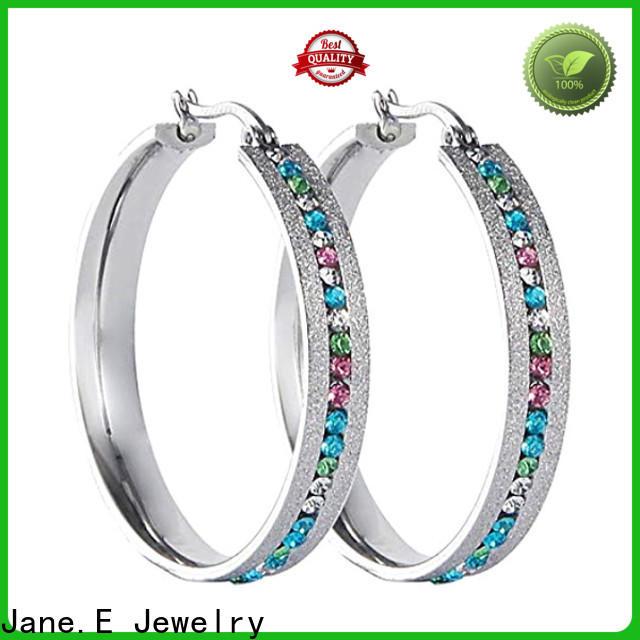 hypoallergenic pearl earrings for women blanks customized for women