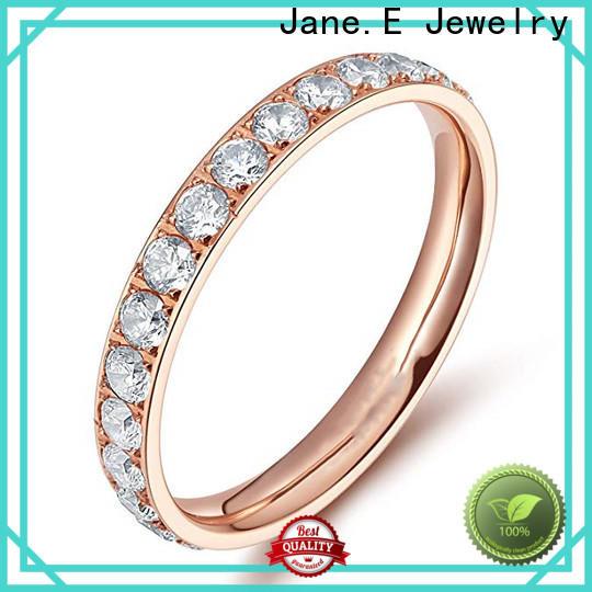 sparkle sandblasting custom titanium wedding rings center beveled simple for engagement