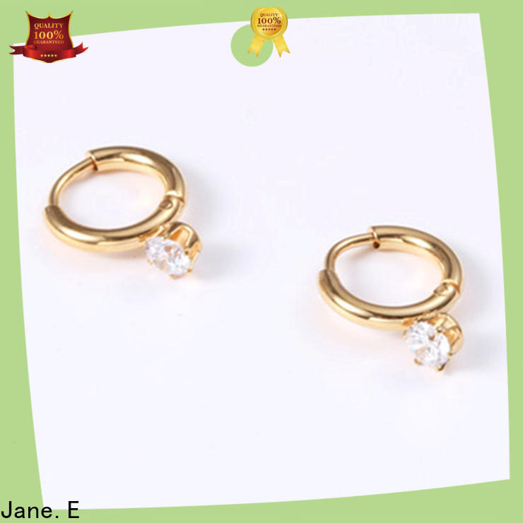 JaneE 316l hypoallergenic earrings customized for decoration