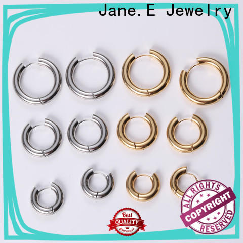 JaneE stylish hypoallergenic earrings ODM for decoration
