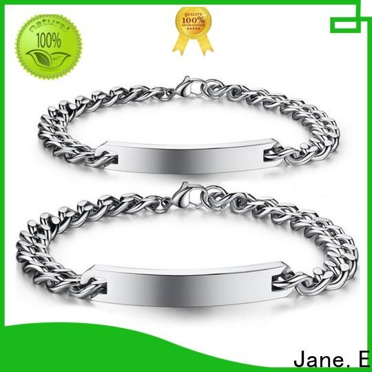 JaneE gold plated bracelet stainless steel customized for decoration