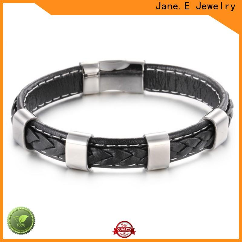JaneE luxury stainless steel chain bracelet customized for gifts