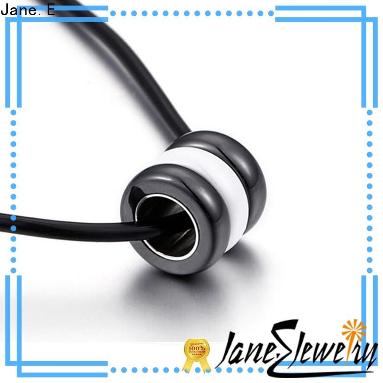 fragrant stainless steel necklace brushed surface manual polished for decoration