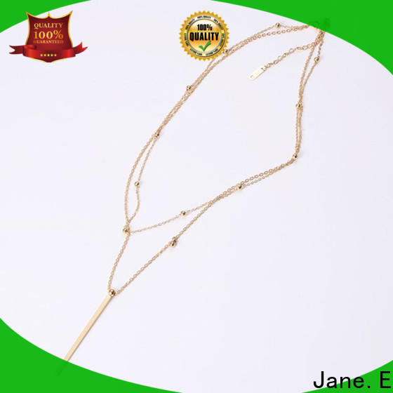 JaneE fragrant steel chain necklace factory direct manufacturer