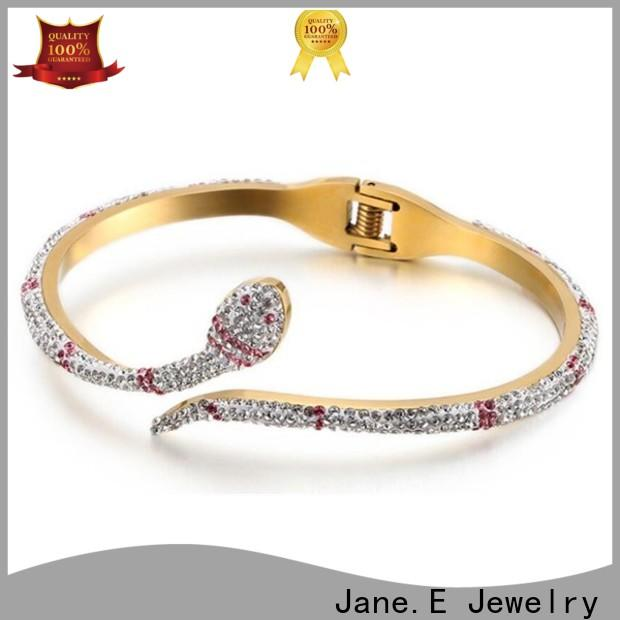 JaneE stylish brushed custom bracelets lovely for party