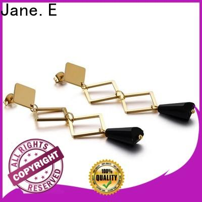 JaneE round cuff earrings comfortable for decoration