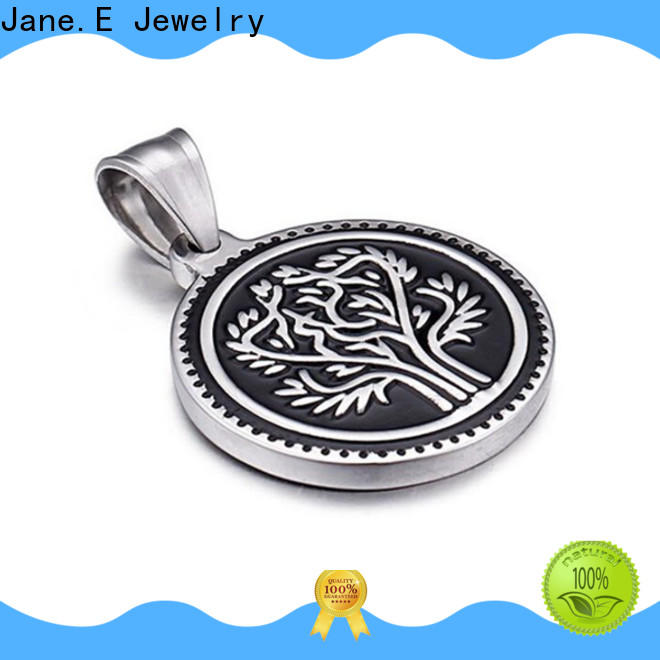 JaneE new design stainless steel pendant for men beautiful for festival gifts