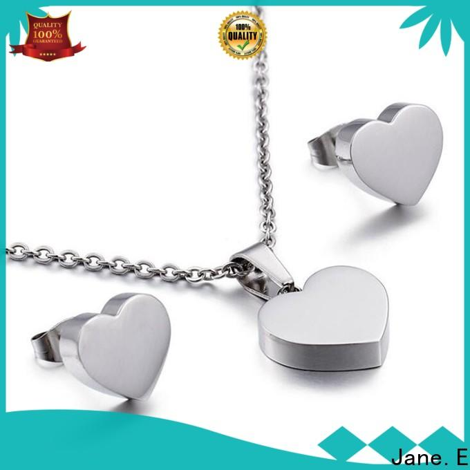 JaneE rose gold stainless steel necklace pendants beautiful for festival gifts