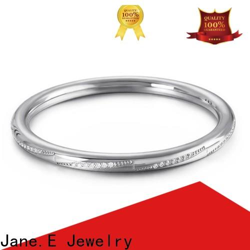 JaneE multi colors mens stainless steel bangle hot selling manufacturer