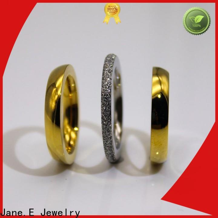 square edges stainless steel ring plated top quality for decoration