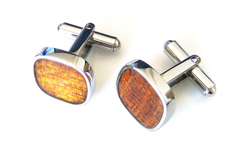 JaneE silver personalised cufflinks all sizes for men-1
