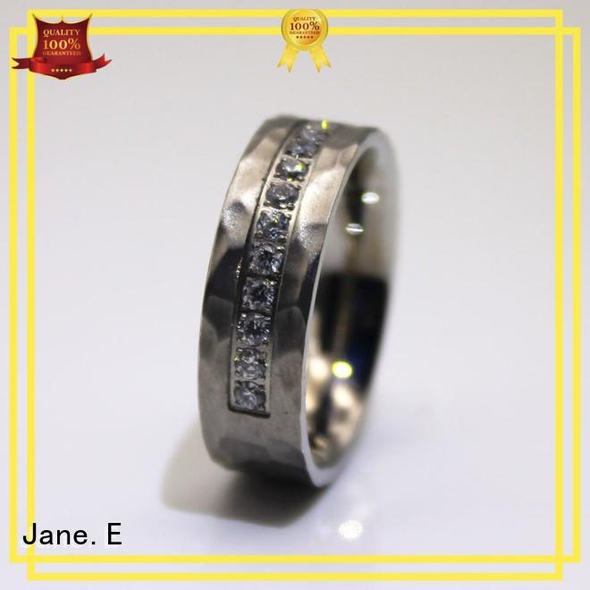 factory direct women's black stainless steel rings top quality for men