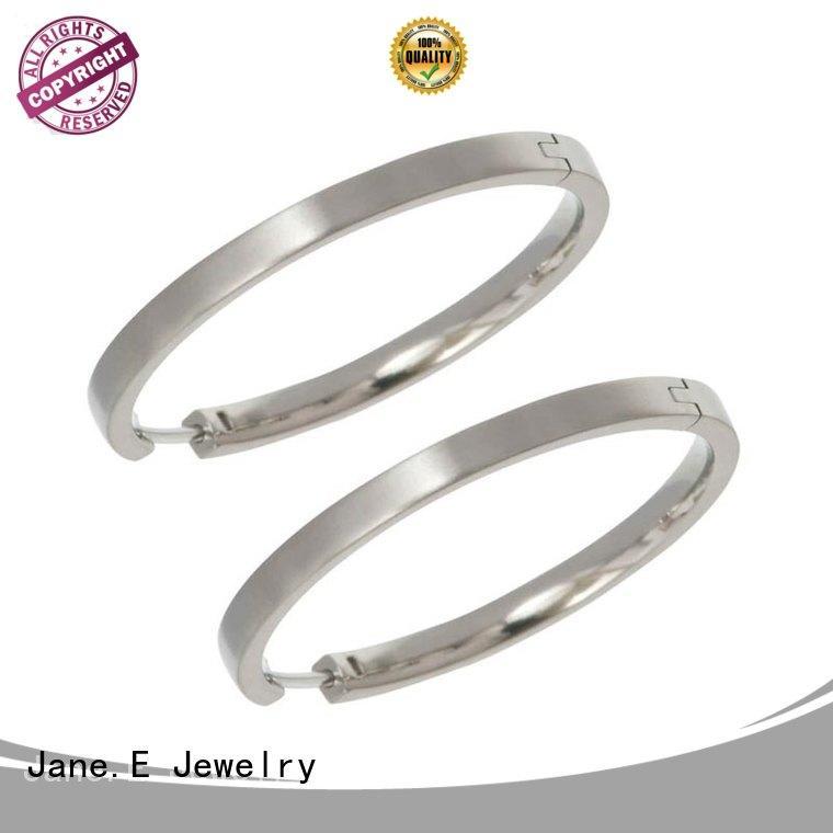rainbow titanium stud earrings zirconia body hot selling for women