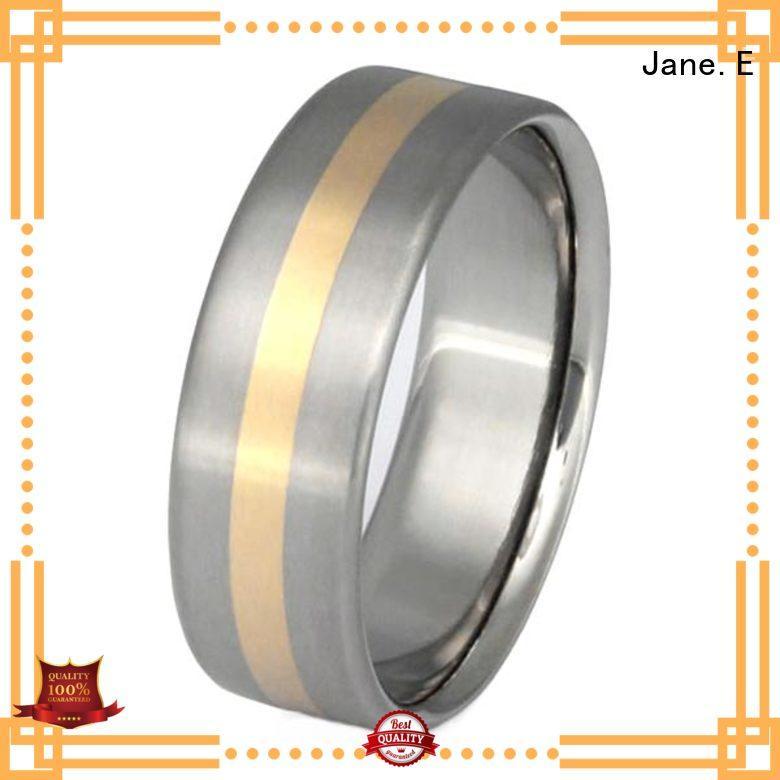 high quality black ceramic ring matt for women
