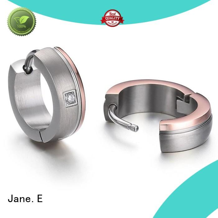JaneE traditional simple earrings hot selling for gift