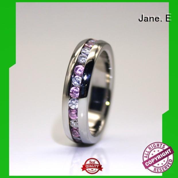 stainless wedding rings blue for weddings JaneE