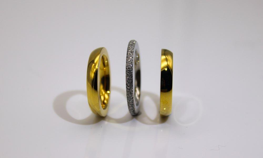 factory direct stainless steel ring blanks black top quality for weddings-3