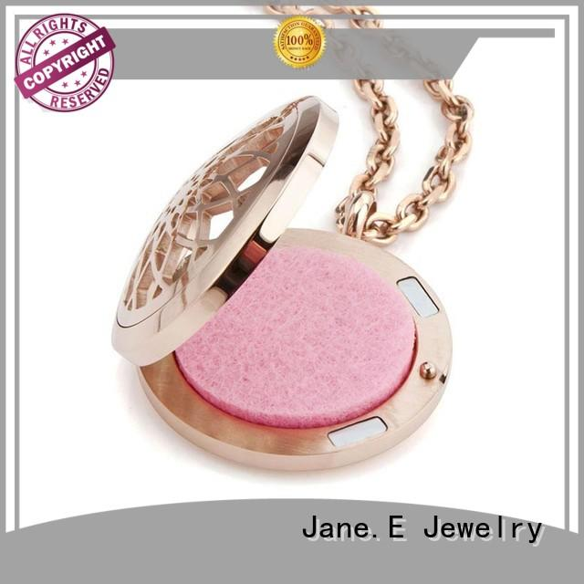 JaneE engraved stainless steel personalized necklace factory direct for decoration
