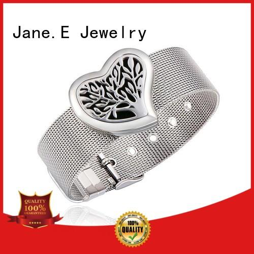 JaneE custom made stainless steel bangle bracelets hot selling supplier