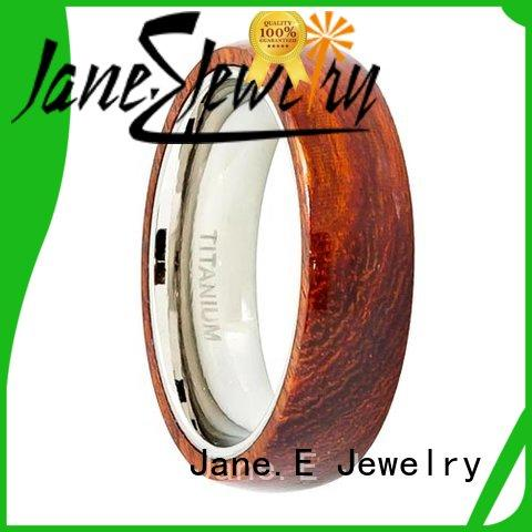 high quality titanium wedding rings damascus all size for wedding