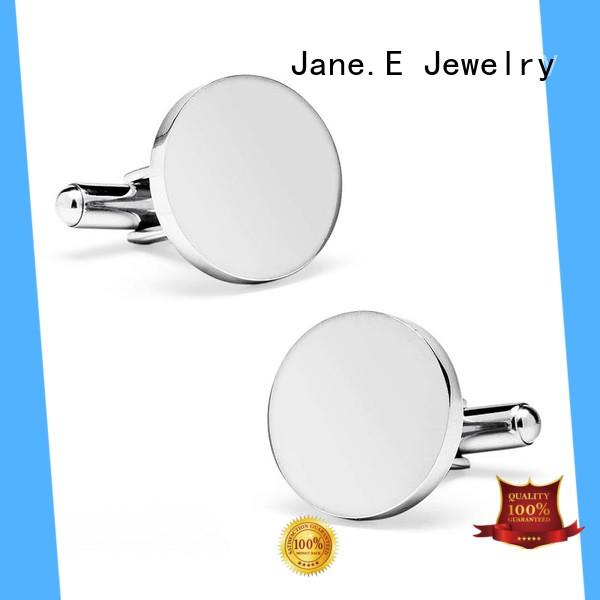JaneE personalised cheap cufflinks fashion for men