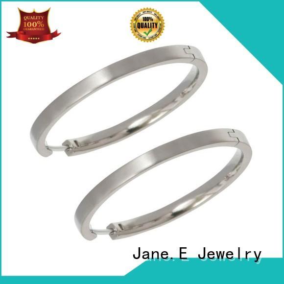 exquisite titanium piercing earrings hot selling for women