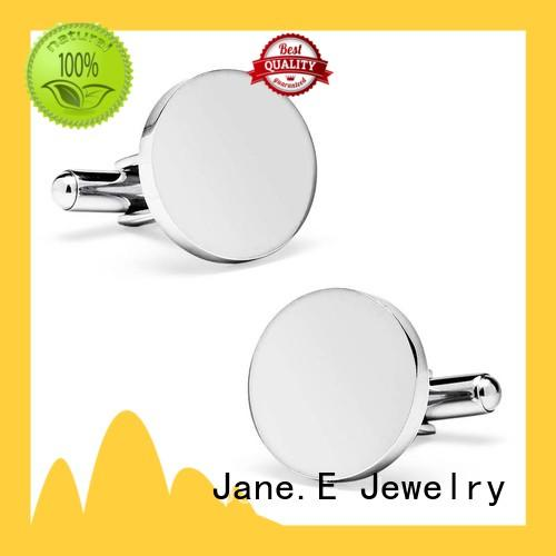 silver personalized cufflinks polished luxury for gifts