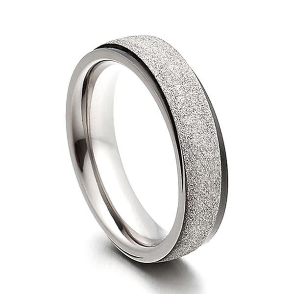 JaneE yellow gold titanium wedding rings factory direct for anniversary-2