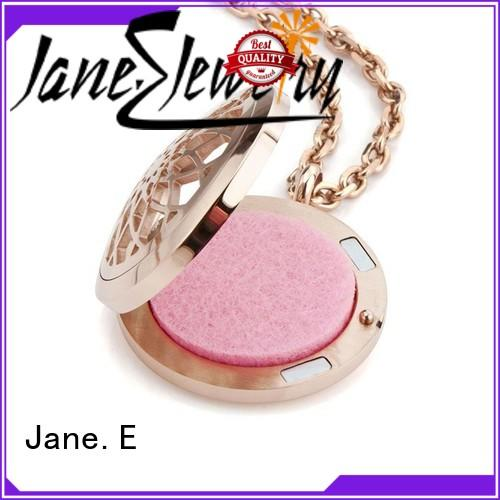 JaneE brushed surface stainless steel chain necklace mens different dimension for decoration