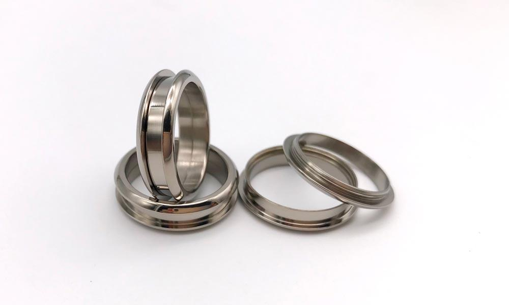 JaneE high quality titanium ring core silver for decoration-3