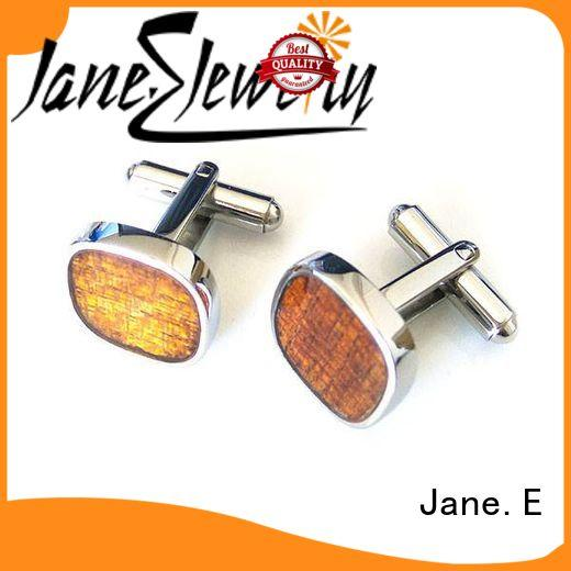 JaneE silver personalised cufflinks all sizes for men