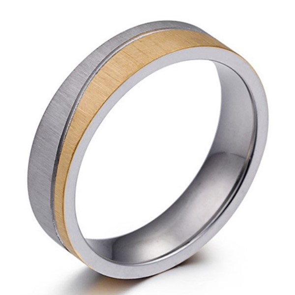 JaneE brown men's wedding band comfortable for decoration-2