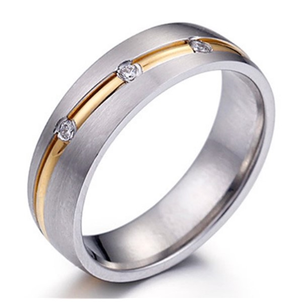 JaneE factory direct stainless steel wedding band top quality for weddings-2