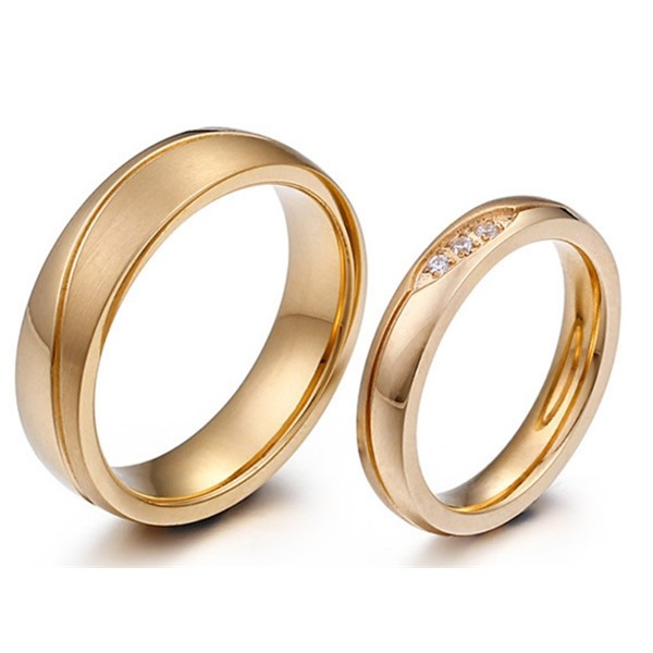 JaneE factory direct ladies stainless steel rings comfortable for decoration-1