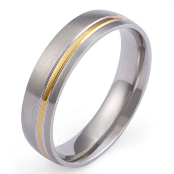 JaneE sparkle sandblasting custom made titanium rings wholesale for engagement-2