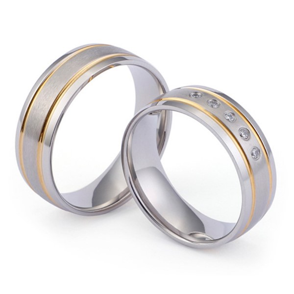 JaneE 8mm threads titanium ring core factory direct for engagement-1