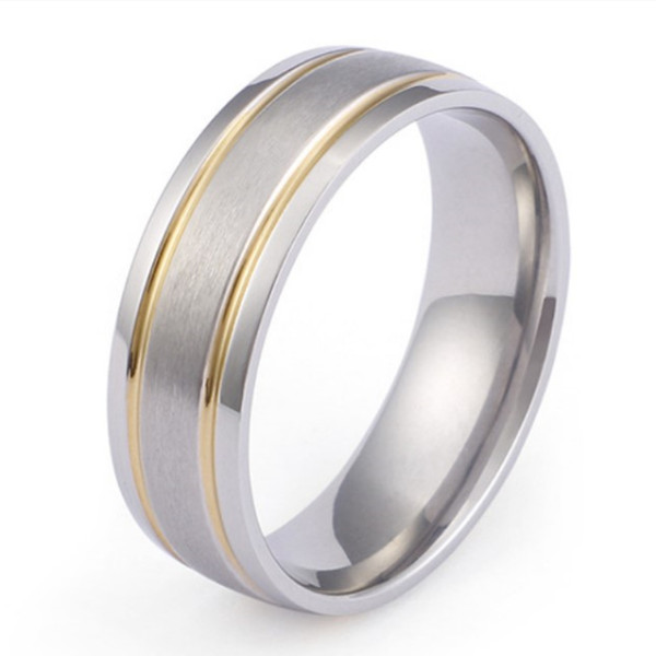 JaneE 8mm threads titanium ring core factory direct for engagement-3