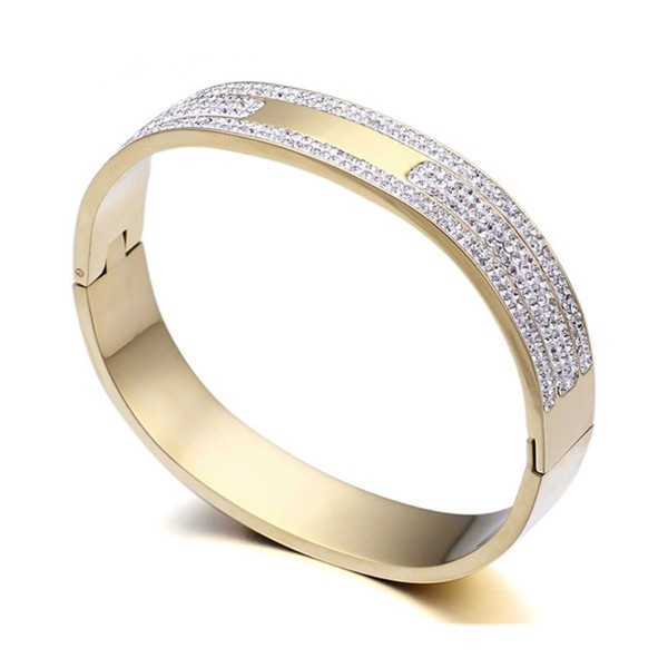 JaneE 316l stainless steel bangle exquisite supplier-1
