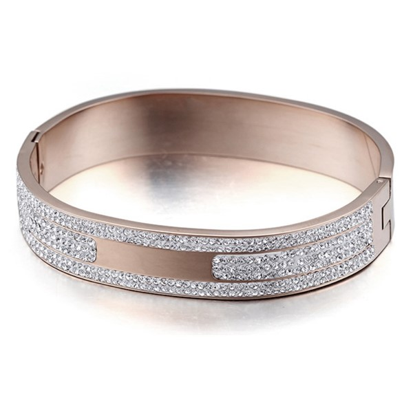 JaneE 316l stainless steel bangle exquisite supplier-3