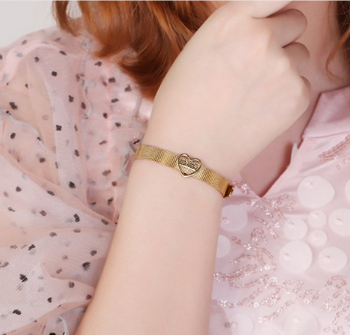 JaneE multi colors stainless steel bangles wholesale exquisite supplier-3