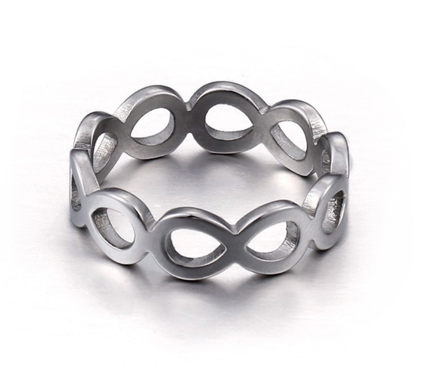 JaneE milgrain stainless steel ring core top quality for men-1