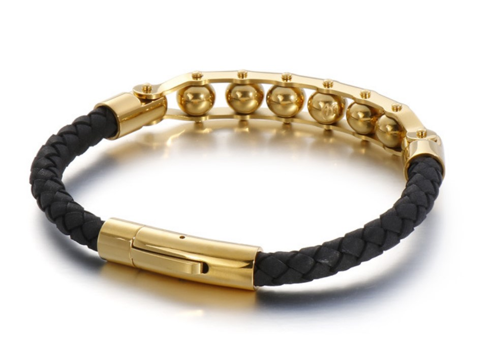 JaneE surgical bangle for men exquisite for gift-4