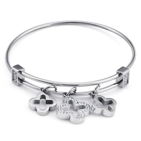 JaneE 316l stainless steel bangle hot selling manufacturer-3