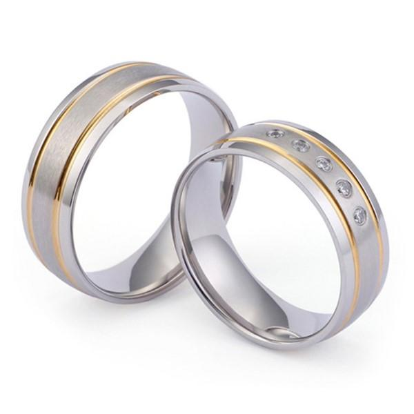 sparkle sandblasting titanium wedding rings for wood crafts simple for wedding-1