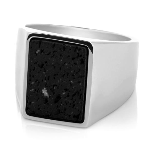 square edges stainless steel rings for her plating comfortable for decoration-2