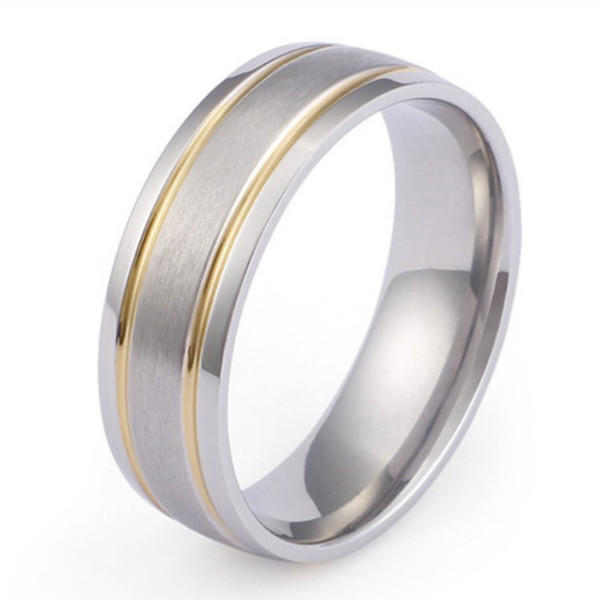 sparkle sandblasting titanium wedding rings for wood crafts simple for wedding-3