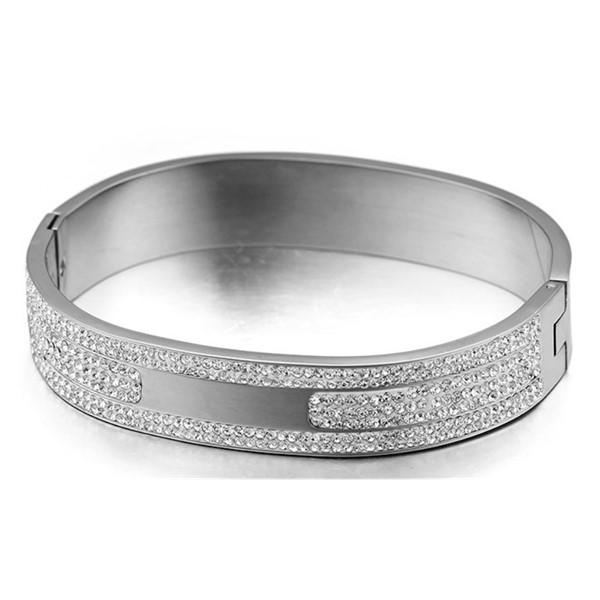 custom made stainless steel bangle bracelets with stainless steel watch band hot selling supplier-2