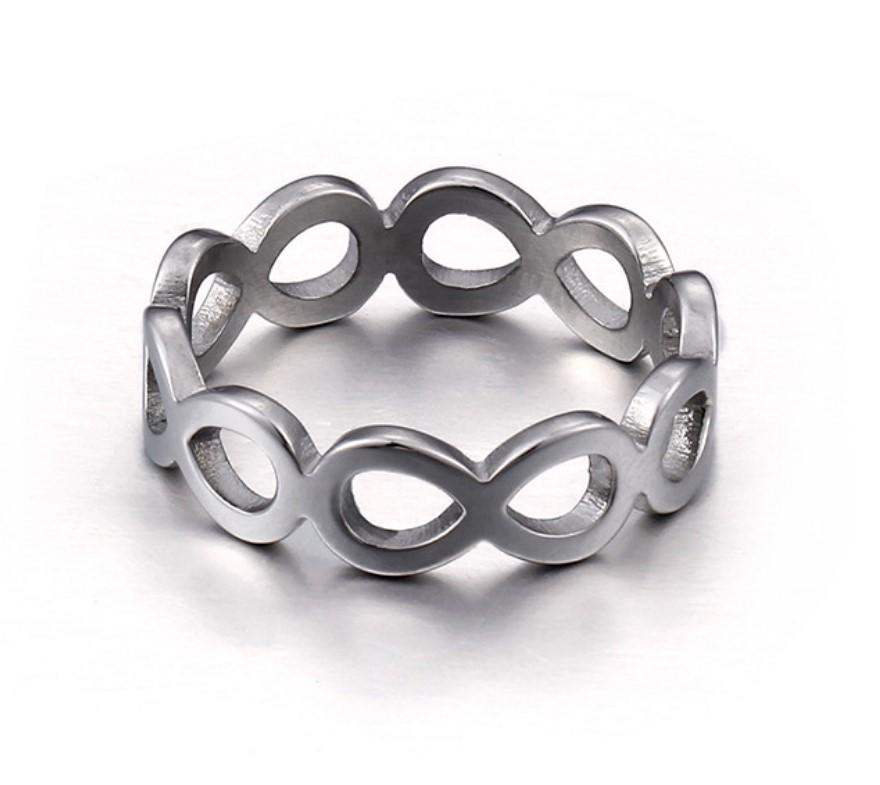 JaneE brown stainless steel promise rings fashion design for men-1
